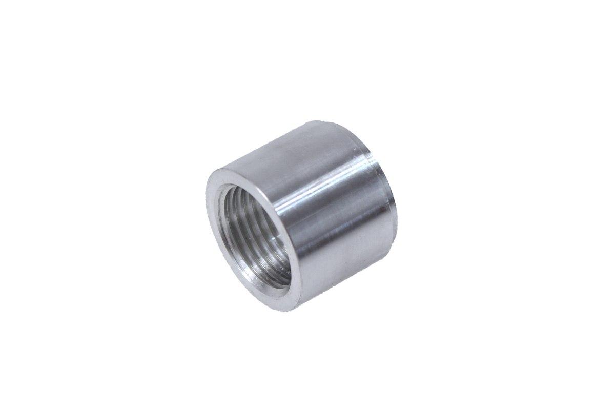 """Nypel żeński 3/8""""-18NPT do wspawania (aluminiowy) - GRUBYGARAGE - Sklep Tuningowy"""
